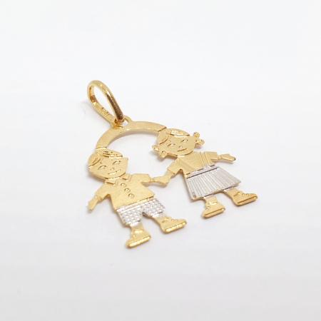 Pandantiv placat cu aur Minions [1]