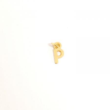 Pandantiv P placat cu aur SaraTremo [0]