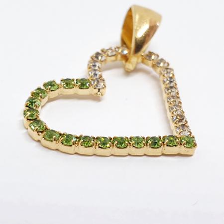 Pandantiv placat cu aur Mi Amor [1]