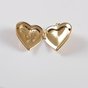 Medalion pentru fotografie Two Hearts2
