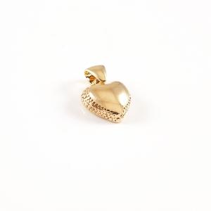 Pandantiv placat cu aur Hearts1