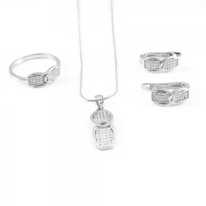 Set bijuterii din argint Beyonce0