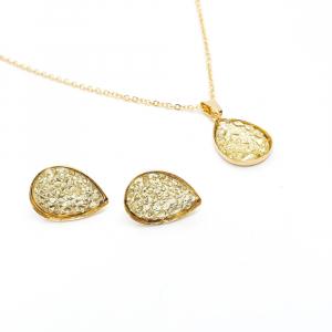 Set bijuterii placate cu aur Penelope2