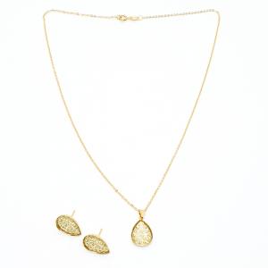 Set bijuterii placate cu aur Penelope0
