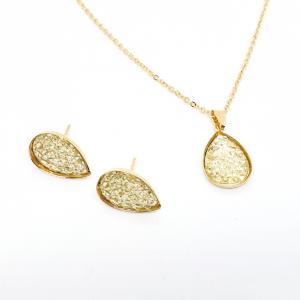 Set bijuterii placate cu aur Penelope1