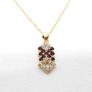 Set bijuterii placate cu aur Caliope3