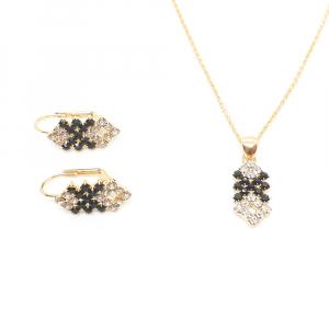 Set bijuterii placate cu aur Predicto2