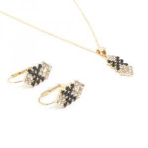Set bijuterii placate cu aur Predicto1