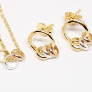 Set bijuterii placate cu aur Star1