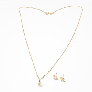Set bijuterii placate cu aur Phunk - Copie1