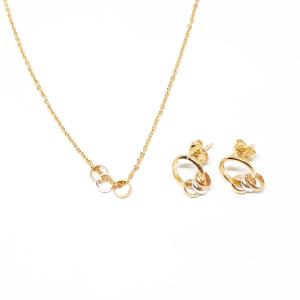 Set bijuterii placate cu aur Star0