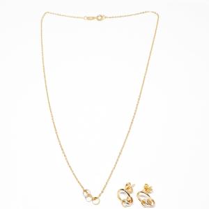 Set bijuterii placate cu aur Star3