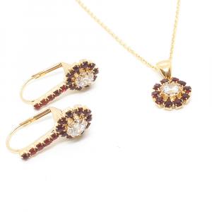 Set bijuterii placate cu aur Pretty Woman1