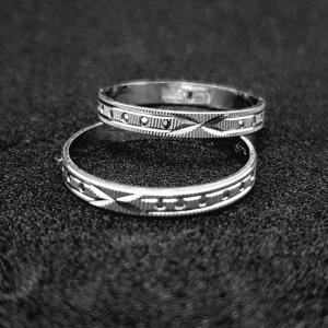 Verigheta din argint rodiat SaraTremo [2]