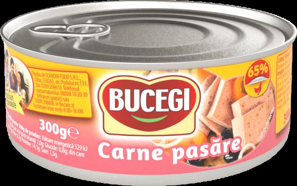 Bucegi Carne pasare 300g, 65% carne [0]