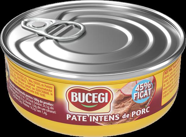 Bucegi Pate de porc 45% ficat 120g [0]