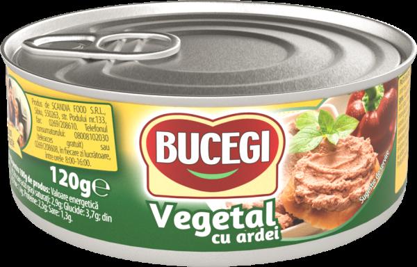 Bucegi Pasta vegetala cu ardei 120g [0]