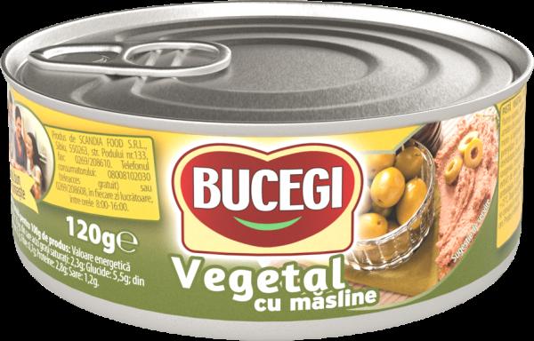 Bucegi Pasta vegetala cu masline 120g [0]