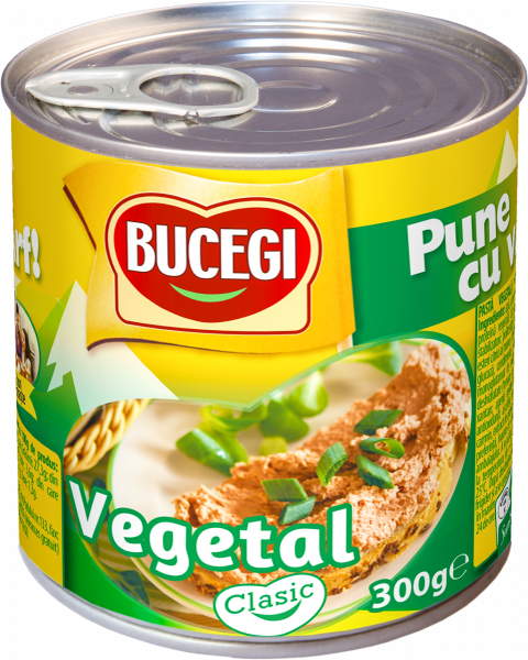 Bucegi Pasta vegetala tartinabila 300g EO [0]