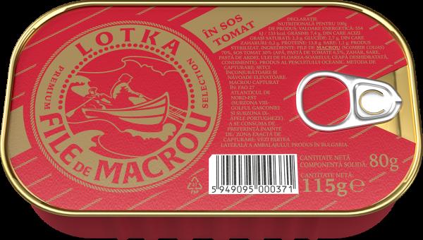 LOTKA Macrou file in sos tomat 115g [0]