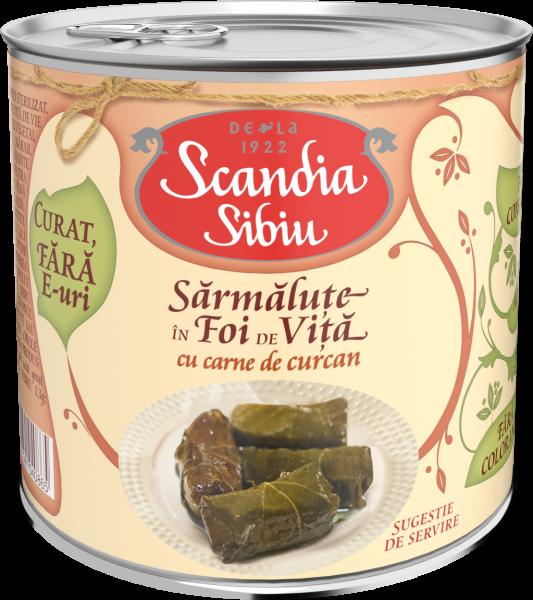 Scandia Sibiu Sarmalute foi vita cu curcan 400g [0]