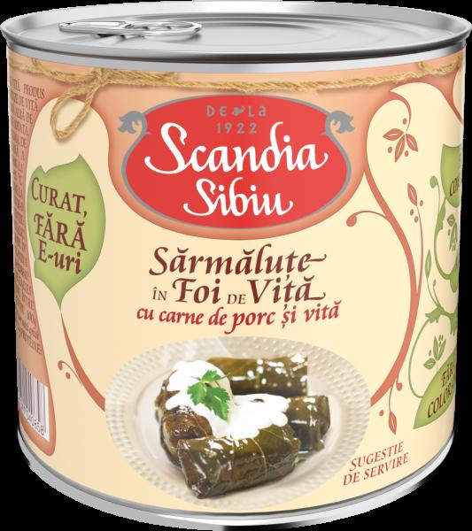 Scandia Sibiu Sarmalute foi vita cu porc si vita 400g [0]