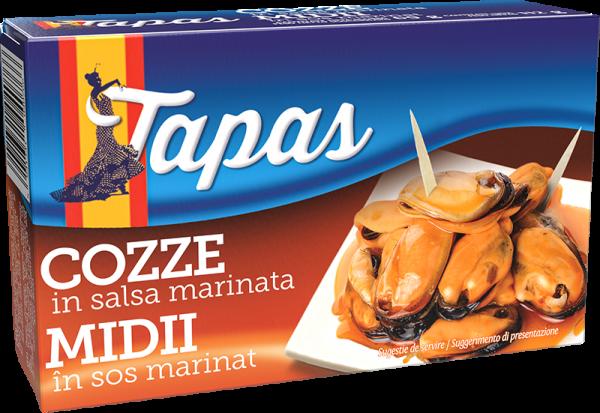 TAPAS Midii în sos marinat 112g [0]