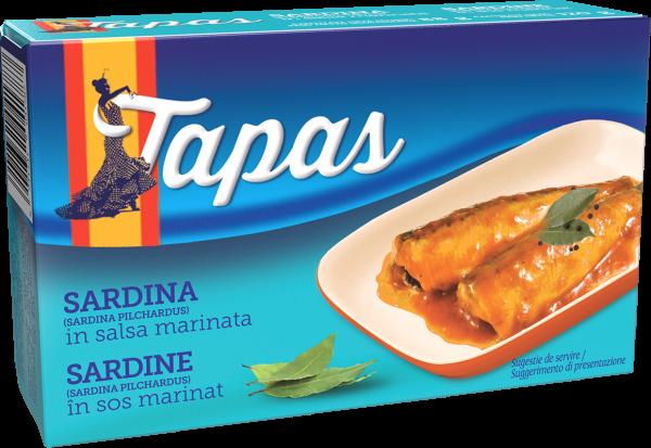 TAPAS Sardina in sos escabeche 120g [0]