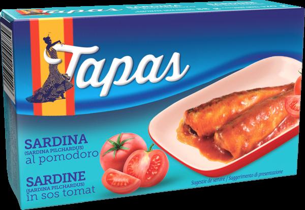 TAPAS Sardina in sos tomat 120g [0]