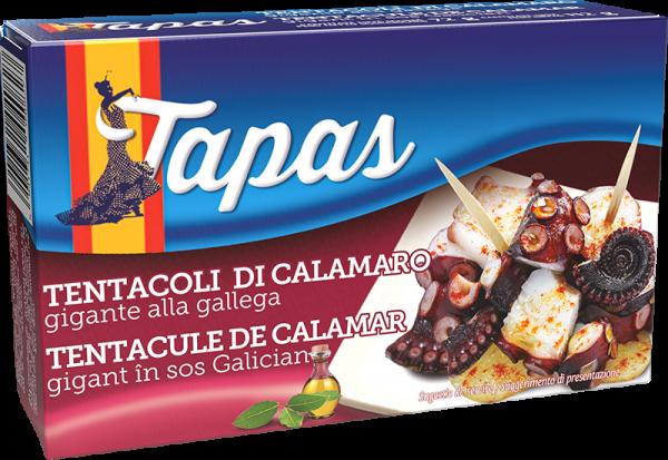 TAPAS Tentacule de calamar gigant în sos Galician 112g [0]