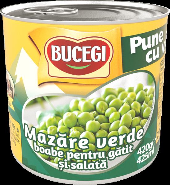 BUCEGI Mazare verde boabe pentru gatit si salata 400g [0]