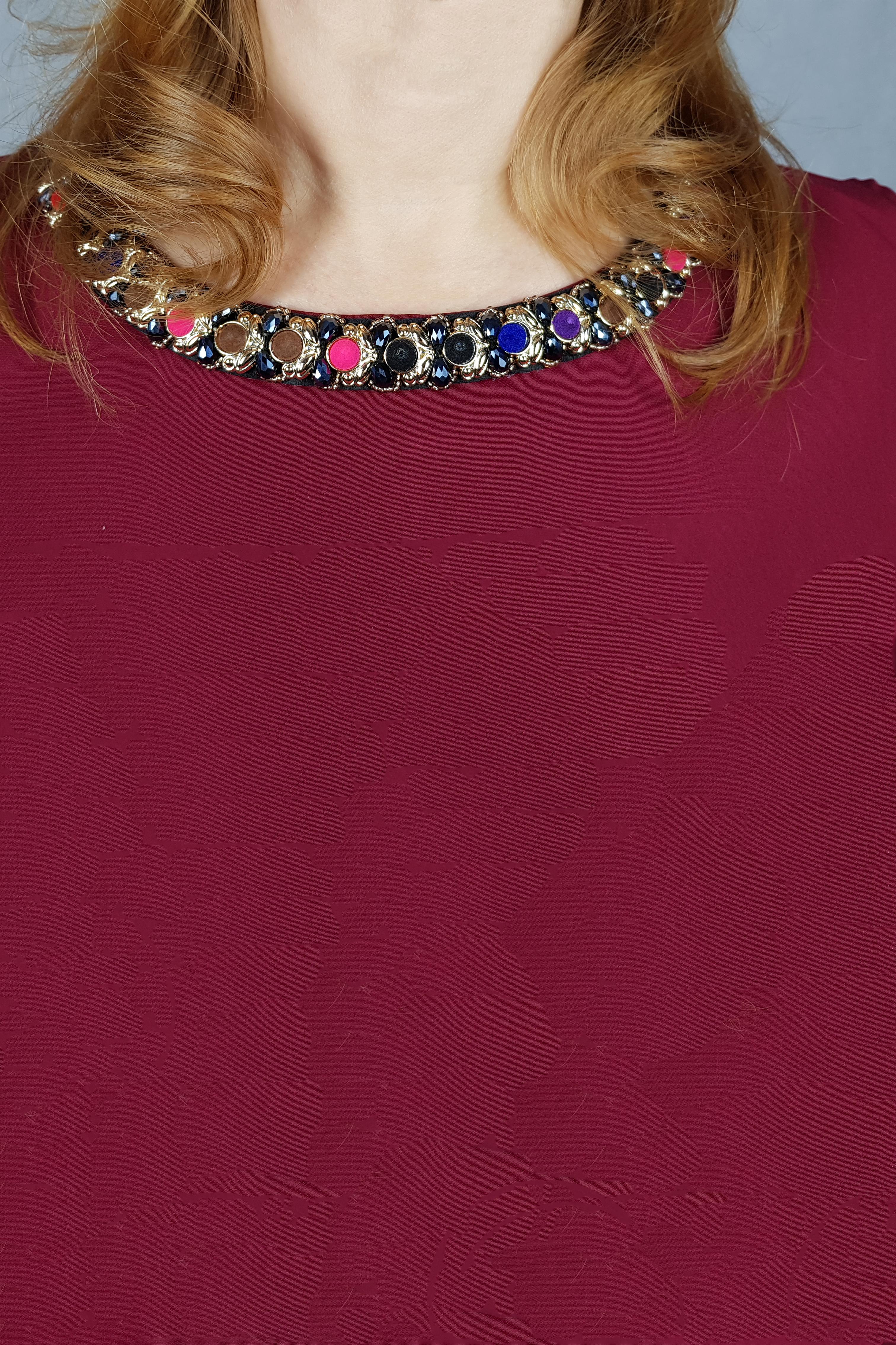Rochie Ioana cu accesoriu la gat3