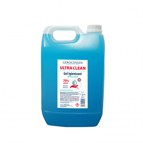 Gel igienizant pentru maini 70% alcool ULTRA CLEAN 5 litri [0]