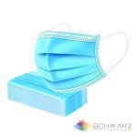 Masca Medicala unica folosinta 3 pliuri 3 straturi BFE > 99% 0