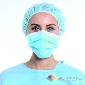 Masca Medicala unica folosinta 3 pliuri 3 straturi BFE > 99% 1