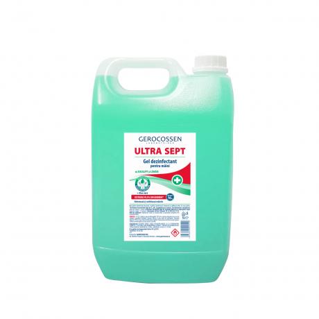 Gel dezinfectant maini Biocid ULTRA SEPT-Distruge 99,9% din germeni,5 litri [0]