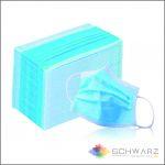 Masca de protectie unica folosinta 3 pliuri 3 straturi BFE >96% [2]