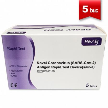 Test Rapid Saliva Antigen COVID-19 Realy Tech (5 Buc) [0]
