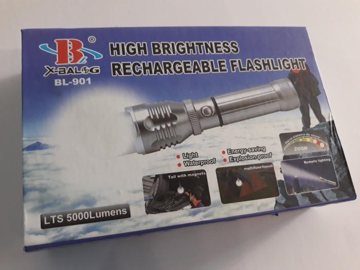 Lanterna LED cu acumulator [0]