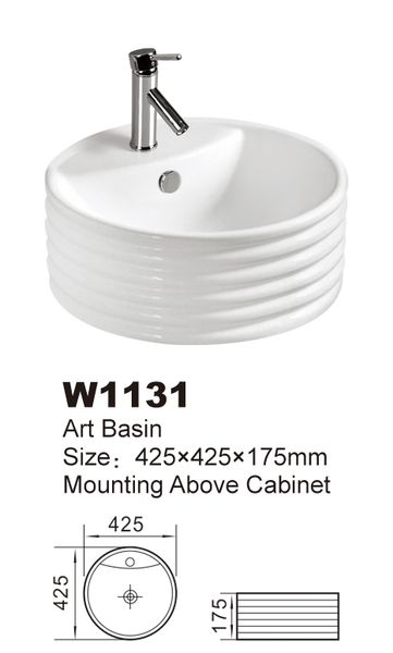 Chiuveta ceramica - 460/460/160 1