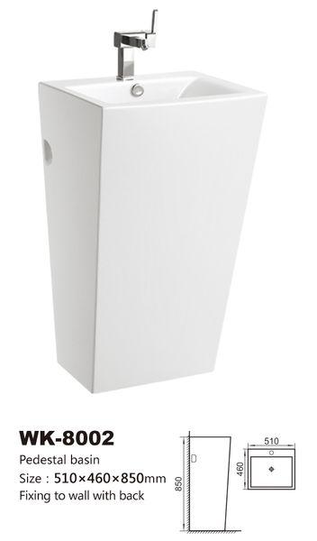 Chiuveta ceramica piedestal - 510/460/850 1