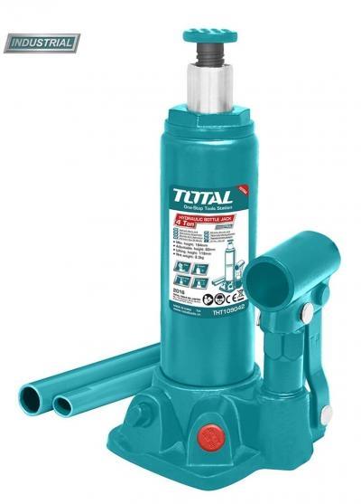 Cric hidraulic auto - butelie - 4T (INDUSTRIAL) 0