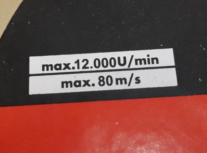 Disc diamantat 125 mm S 3