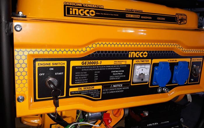 Generator de curent pe benzina - 2800W 0
