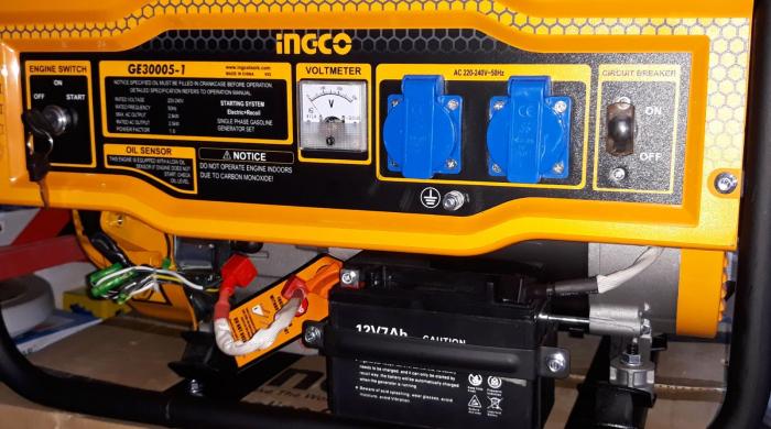 Generator de curent pe benzina - 2800W 1