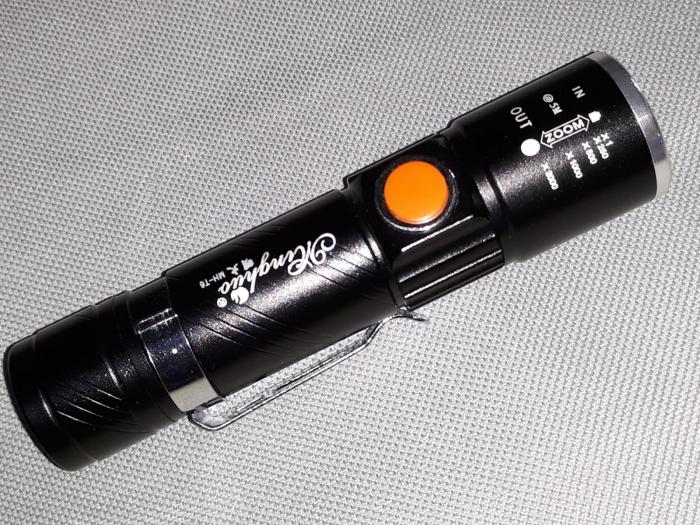 Lanterna LED cu incarcare USB 0