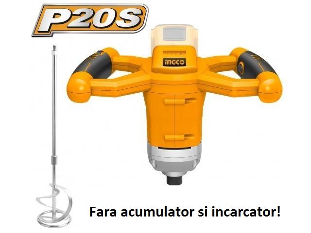 Mixer mortar 20V 0