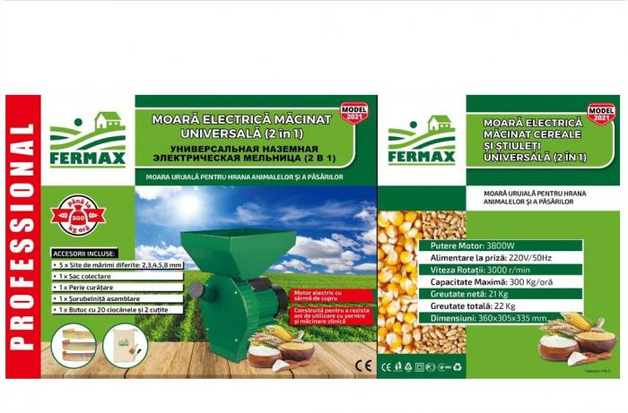 moara cereale fermax model 2021  2