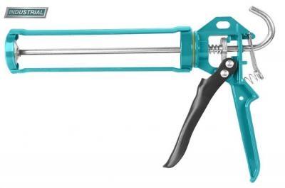 """Pistol pentru silicon - 9"""" -maner aluminiu ranforsat (INDUSTRIAL) 0"""