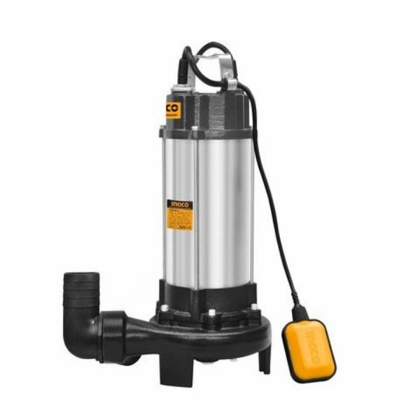 Pompa fosa din inox 1500W cu tocator [0]